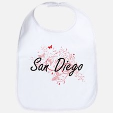 San Diego California City Artistic design with Bib