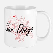 San Diego California City Artistic design wit Mugs