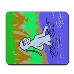 An UnEarthly Girl Mousepad