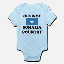 This Is My Somalia Country Infant Bodysuit