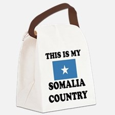 This Is My Somalia Country Canvas Lunch Bag