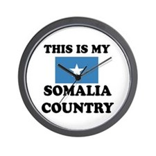 This Is My Somalia Country Wall Clock