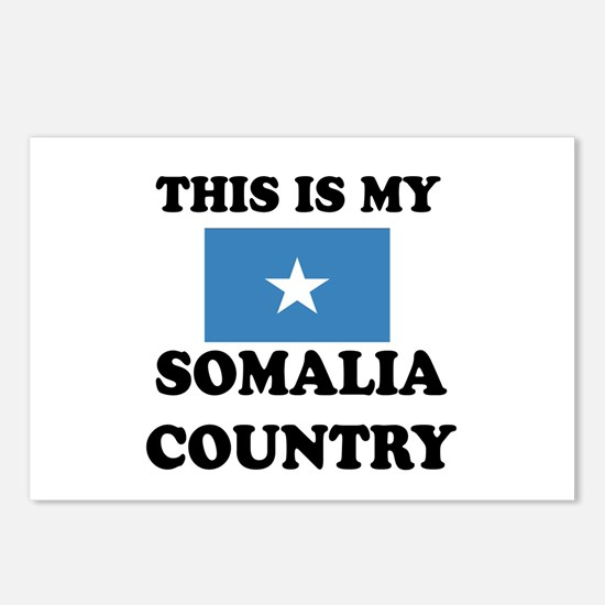This Is My Somalia Countr Postcards (Package of 8)