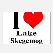 I heart Lake Skegemog Postcards (Package of 8)