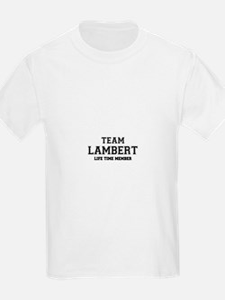 Team LAMBERT, life time member T-Shirt