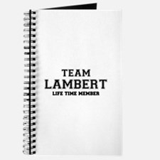 Team LAMBERT, life time member Journal