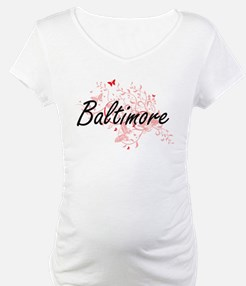Baltimore Maryland City Artistic Shirt