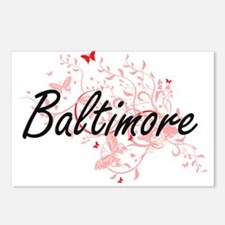 Baltimore Maryland City A Postcards (Package of 8)