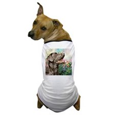 Labrador Painting Dog T-Shirt