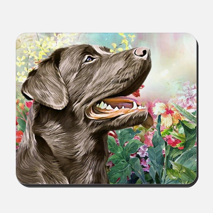 Labrador Painting Mousepad
