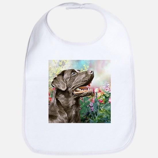 Labrador Painting Bib