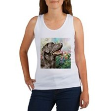 Labrador Painting Tank Top