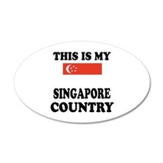 This Is My Singapore Country Wall Decal