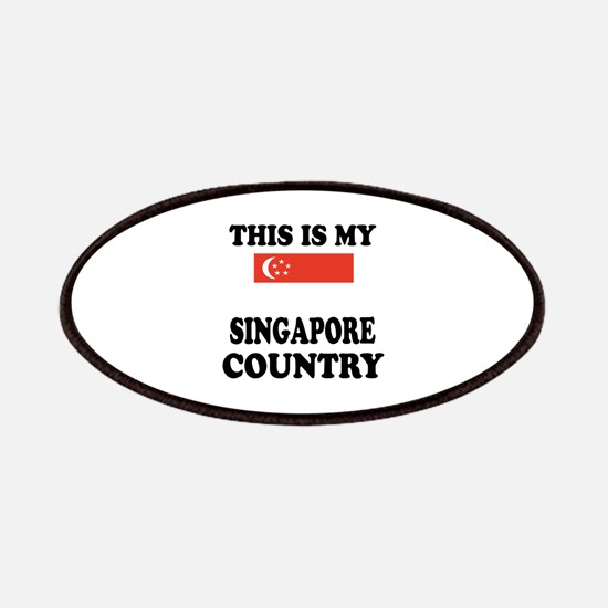 This Is My Singapore Country Patch