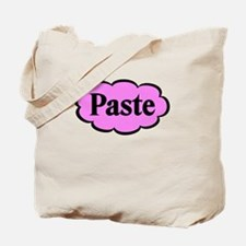 Paste Pink Funny Tote Bag