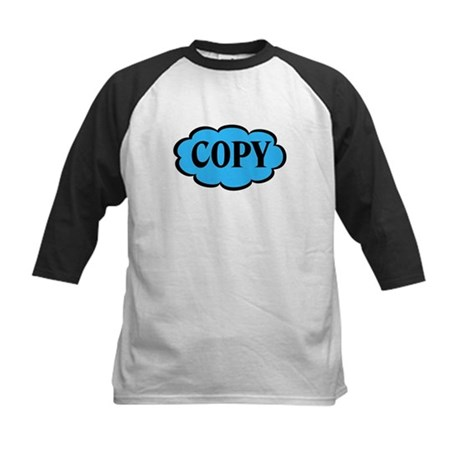 Copy Blue Funny Kids Baseball Jersey