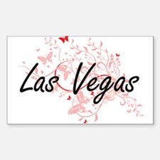 Las Vegas Nevada City Artistic design with Decal