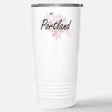 Portland Oregon City Ar Travel Mug