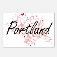 Portland Oregon City Arti Postcards (Package of 8)
