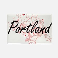 Portland Oregon City Artistic design with Magnets