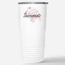 Sacramento California C Travel Mug