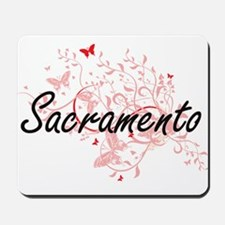 Sacramento California City Artistic desi Mousepad