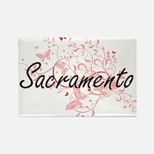 Sacramento California City Artistic design Magnets