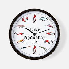 Lake Noquebay Clocks Wall Clock
