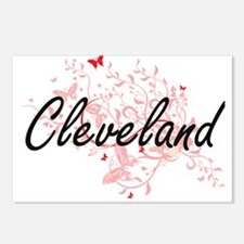 Cleveland Ohio City Artis Postcards (Package of 8)