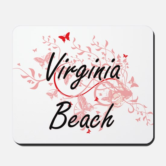 Virginia Beach Virginia City Artistic de Mousepad