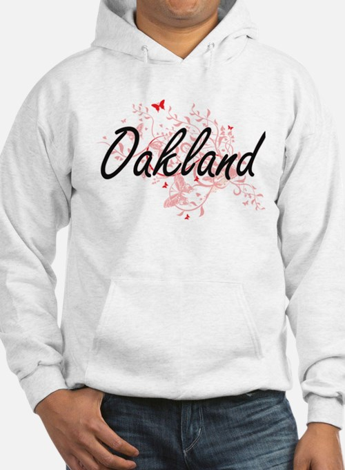 Oakland California City Artistic Hoodie