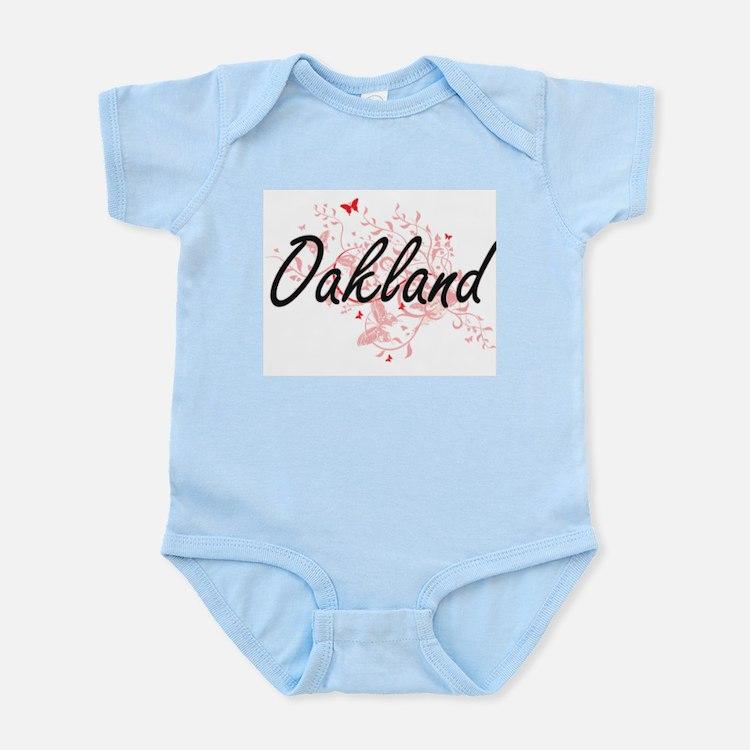 Oakland California City Artistic design Body Suit