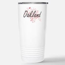 Oakland California City Travel Mug