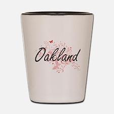 Oakland California City Artistic design Shot Glass