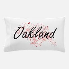Oakland California City Artistic desig Pillow Case
