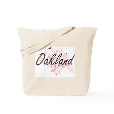 Oakland California City Artistic design w Tote Bag