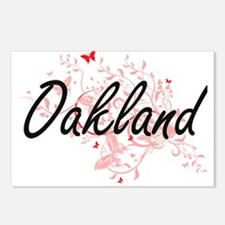 Oakland California City A Postcards (Package of 8)