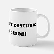 I left my other costume with Mug
