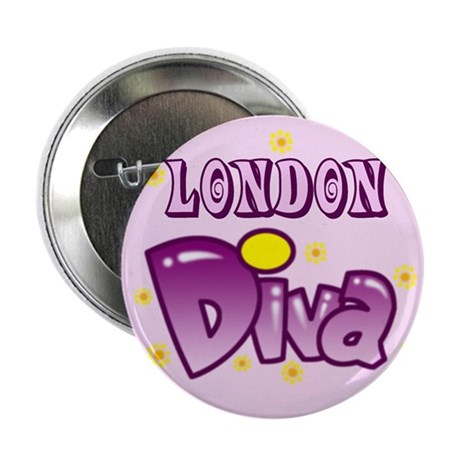 "London Diva 2.25"" Button (100 pack)"