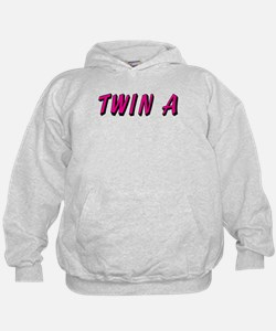 Baby Pink A Twin Hoody