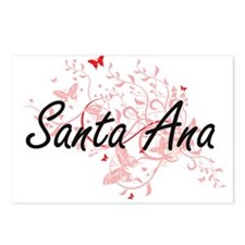 Santa Ana California City Postcards (Package of 8)