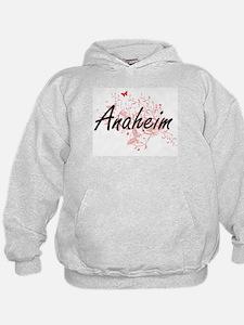 Anaheim California City Artistic desig Hoodie