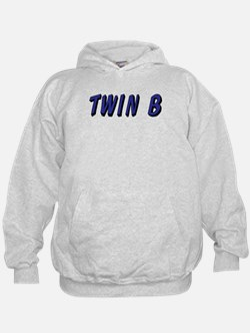 Baby Blue B Twin Hoodie