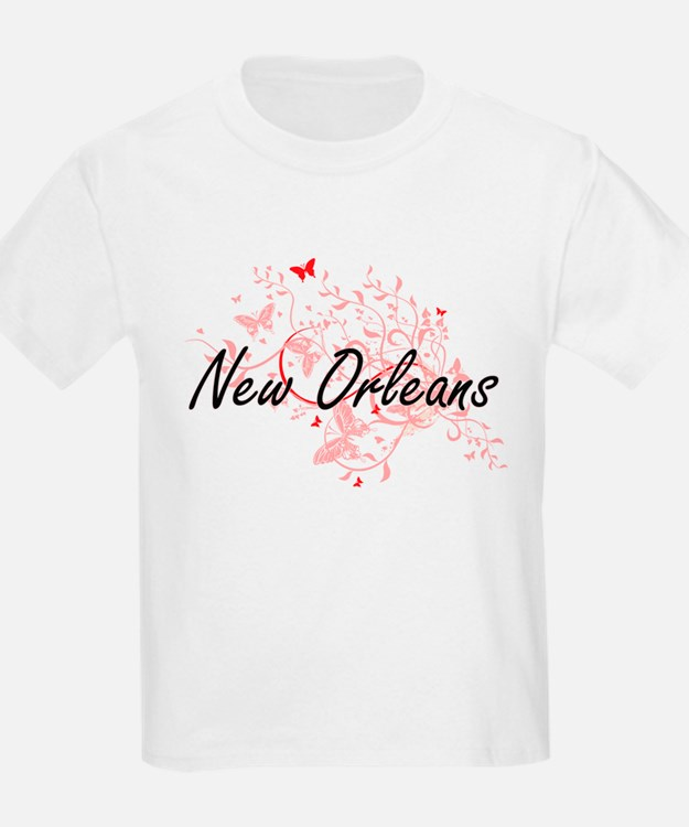 New Orleans Louisiana City Artistic design T-Shirt
