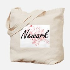 Newark New Jersey City Artistic design wi Tote Bag