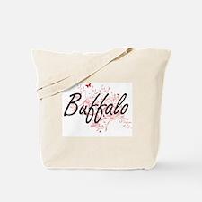 Buffalo New York City Artistic design wit Tote Bag