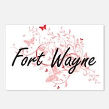 Fort Wayne Indiana City A Postcards (Package of 8)