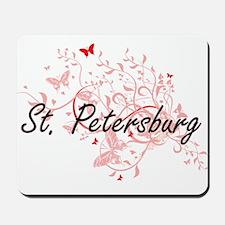 St. Petersburg Florida City Artistic des Mousepad