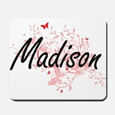 Madison Wisconsin City Artistic design w Mousepad