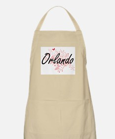 Orlando Florida City Artistic design with bu Apron
